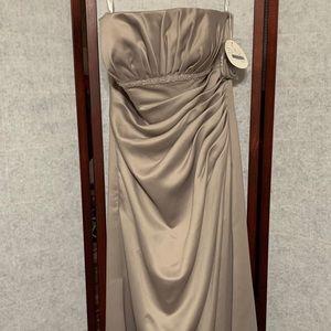 Dresses & Skirts - Alyce Design taupe prom dress
